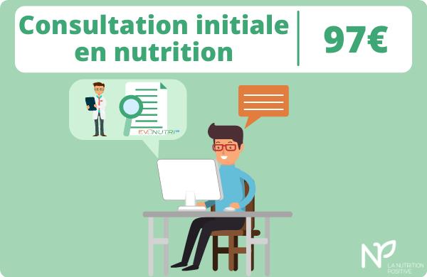 Consultation initiale en nutrition et micronutrition