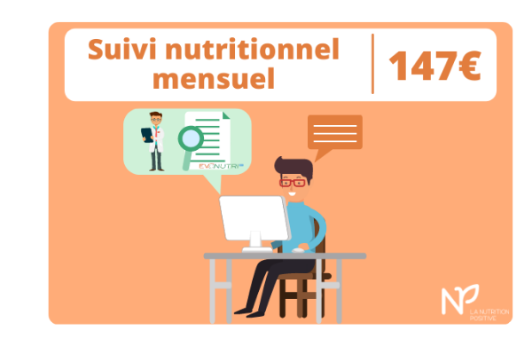 Suivi nutritionnel mensuel