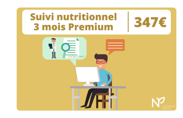 suivi nutritionnel 3 mois premium