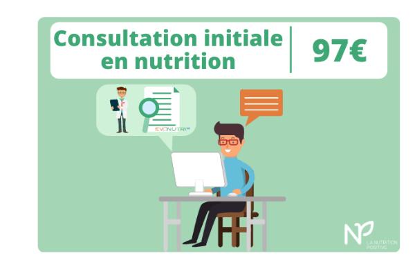 Consultation initiale en nutrition